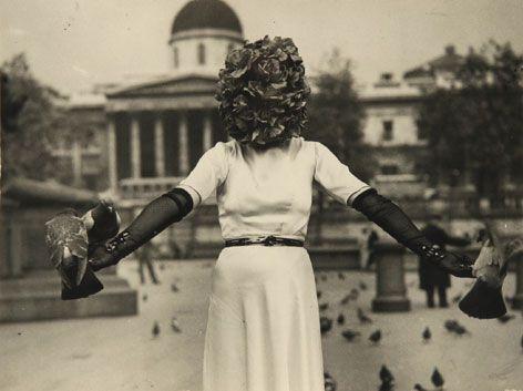 "Sheila Legge, ""Surrealist Phantom,"" from a live ..."