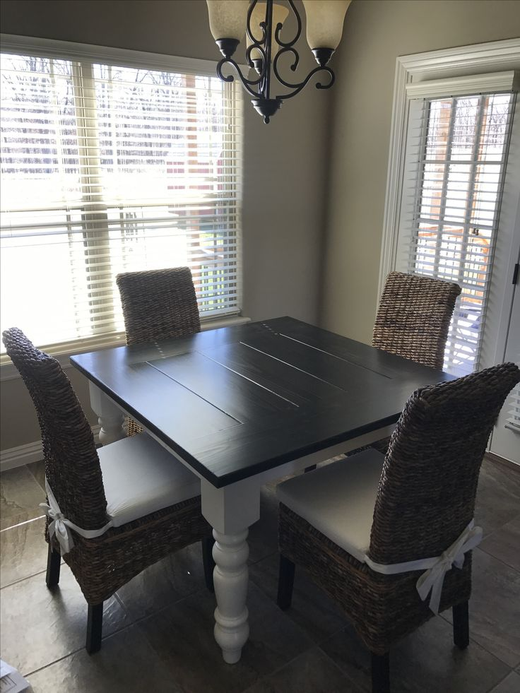 77 Best Square Tables Images On Pinterest  Square Tables Extraordinary Custom Built Dining Room Tables Inspiration Design