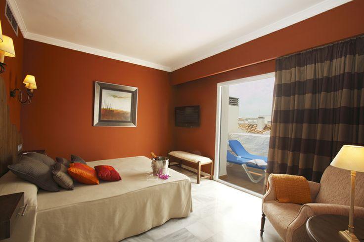 Suite's Bedroom, Hotel PYR Marbella, Puerto Banus, Marbella, Costa del Sol, Spain, Golf