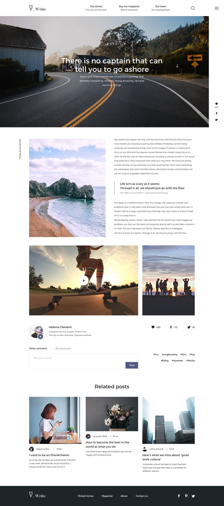 Dribbble - layout.png by Valeria Rimkevich