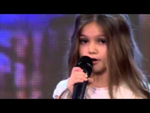 "Real Talent Little Girl (Поля Иванова) Singing ""LISTEN"" by Beyoncé - YouTube"