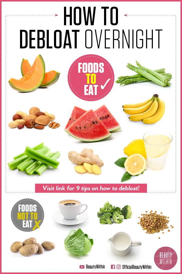 how to fix bloat with diet