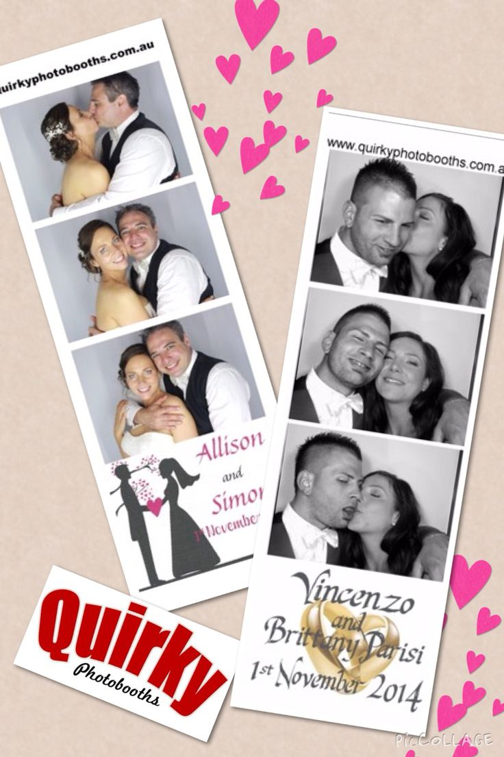 Photostrips make a great bonbonniere option for your guests ... And a great memory for yourselves #weddingbonbonniere #photoboothhiremelbourne #quirkyphotobooths #photoboothhiremelbourne