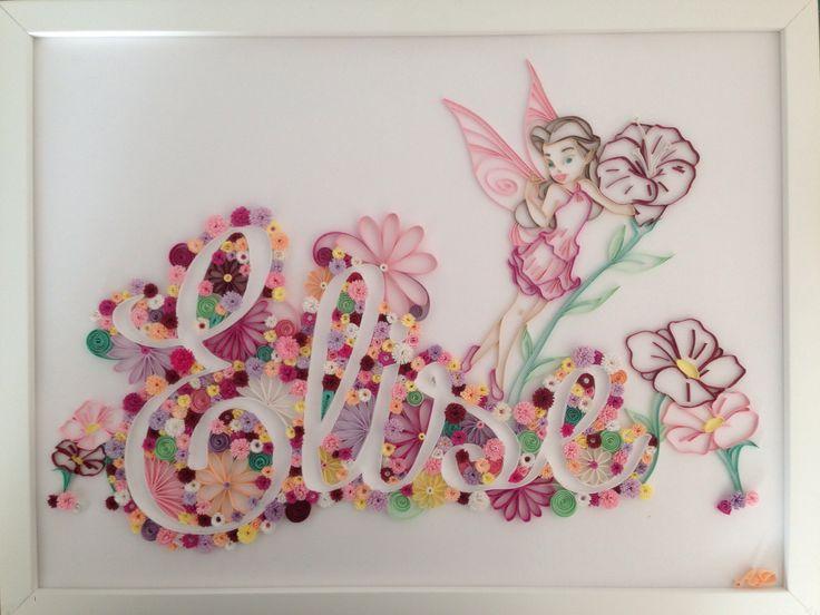 Tableau personnalisable quilling pinterest - Papier cadeau personnalisable ...