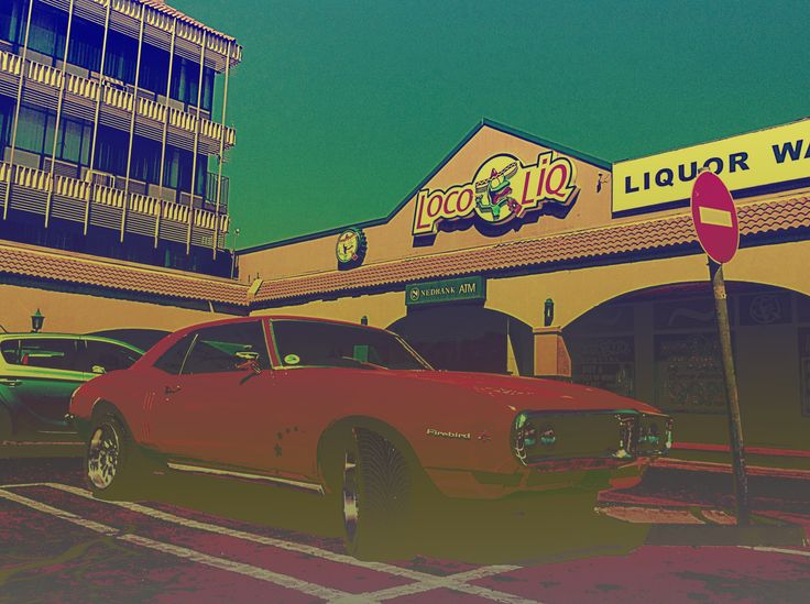 Pontiac Firebird, saw this whilst buying bread, how loco is this!