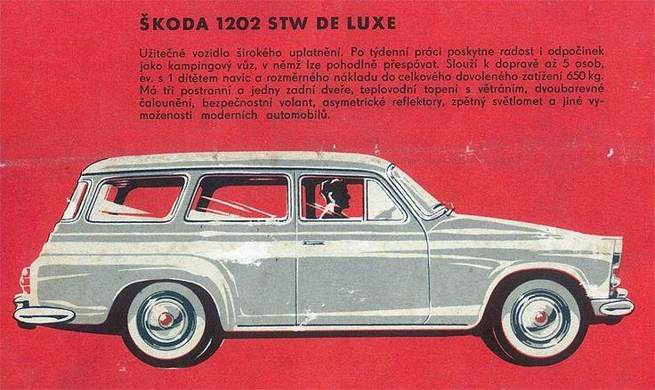 Reklama Mototechna - Škoda 1202
