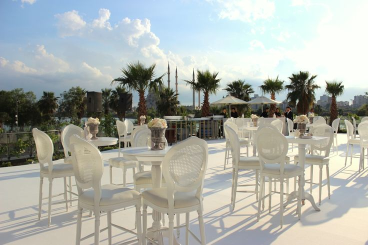 A wonderful view of a terrace can make your event more pleasant