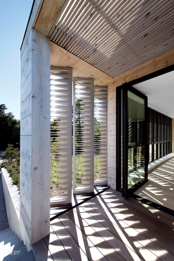Western Red Cedar Clads the Exterior