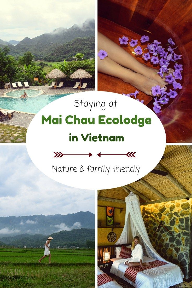 Staying at Mai Chau Ecolodge in Vietnam #ecotourism #sustainable