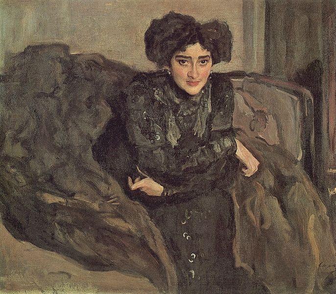 В. Серов. Портрет Е. Лосевой. 1903. ГТГ