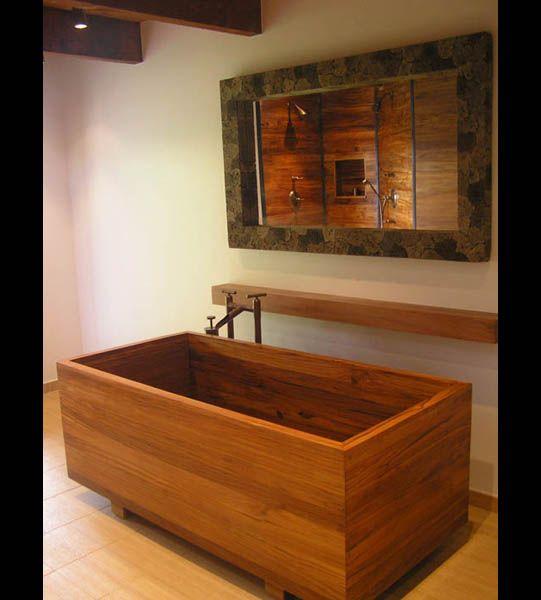 Best 25+ Wooden Bathtub Ideas On Pinterest | Wood Bathtub, Asian Bathtubs  And Small Soaking Tub