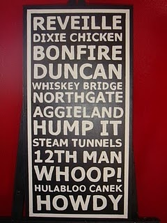 Great idea... just need to correct the spelling of Hullabaloo Caneck Caneck and maybe replace Whiskey Bridge with Century Tree