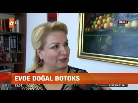 Evde doğal botoks - atv Gün Ortası Bülteni - YouTube