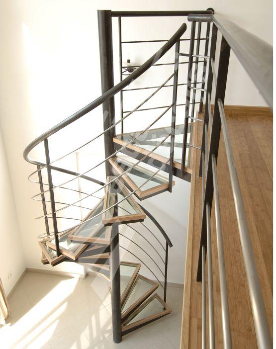 sur le thème Escalier Quart Tournant Haut sur Pinterest  Escalier  ~ Escalier Helicoidal Bois Metal
