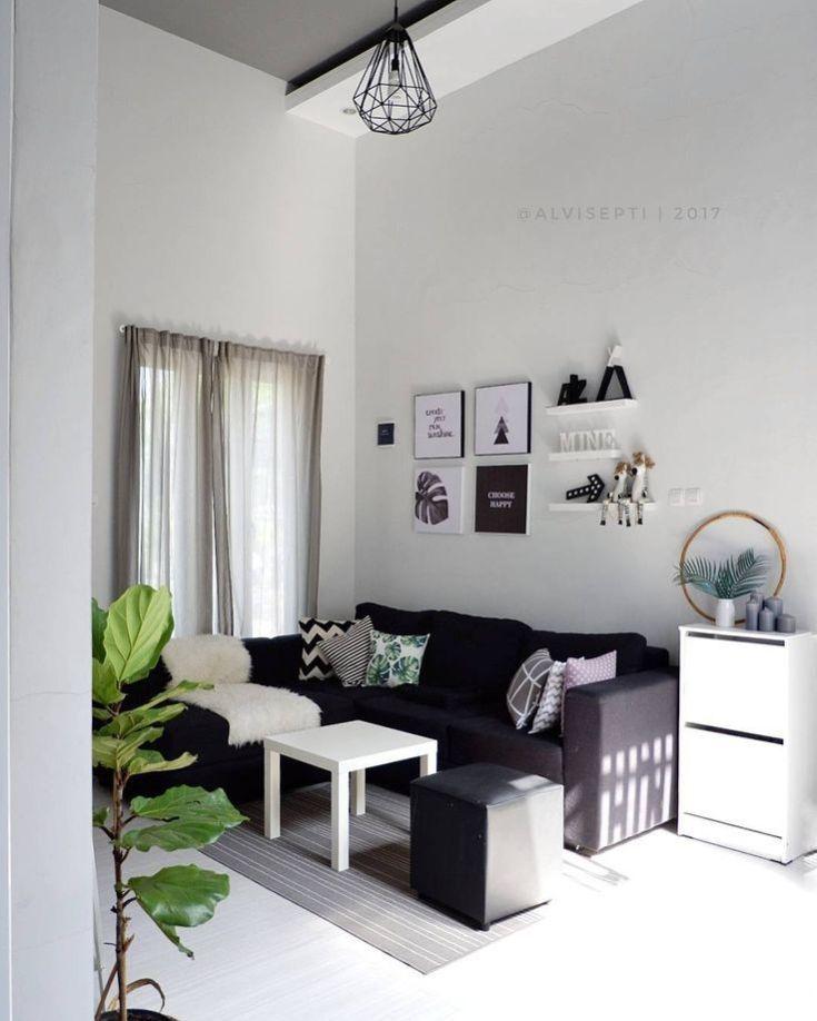 Desain Interior Ruang Tamu Kecil Minimalis Modern Terbaru Di 2020 Desain Interior Ruang Tamu Rumah Interior