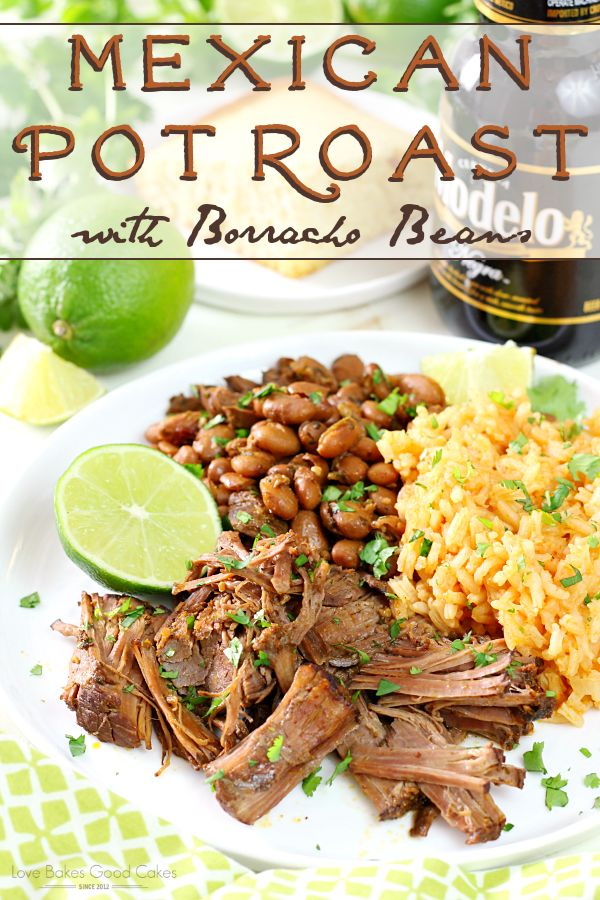 Talk about a flavor explosion in your mouth! This Mexican Pot Roast with Borrach…   – Savory Delights