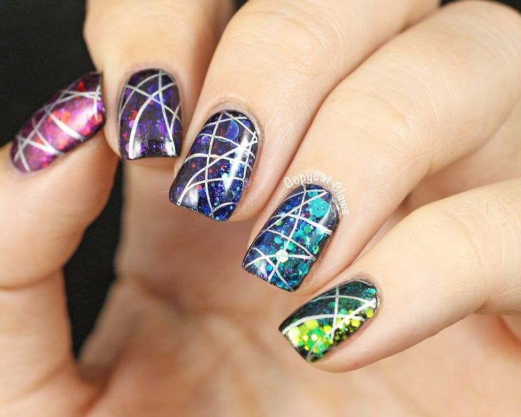 Love these nails but I wonder how they were done. Does anyone know how to do nails just like these one?