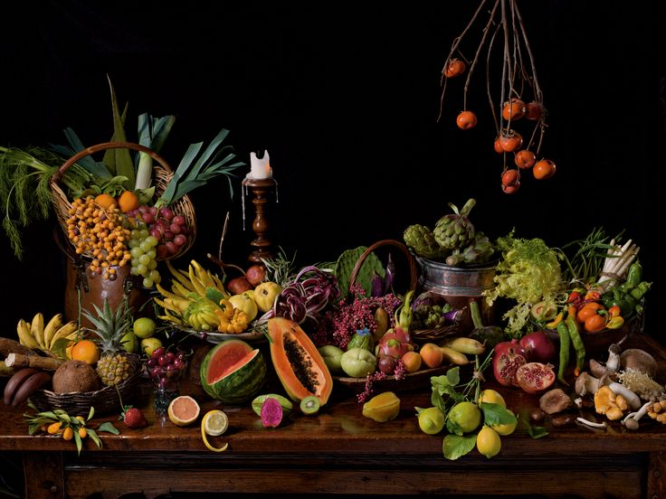 It's fresh produce from four upscale markets in Manhattan-a movable feast.  National Geographic