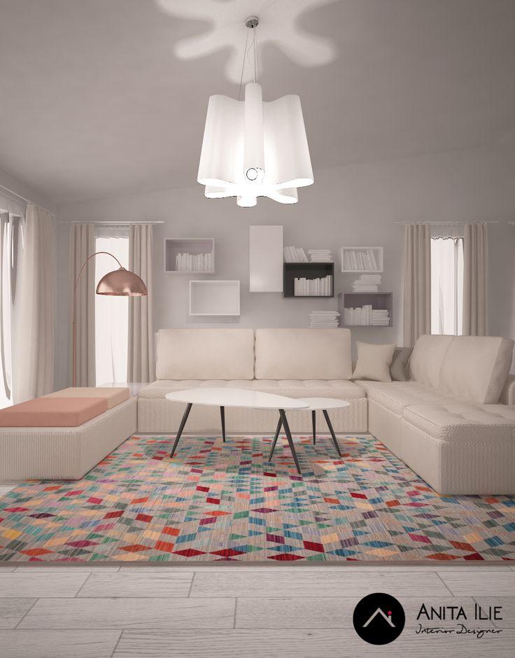 Casa dela Pastel Interior design by Anita Ilie
