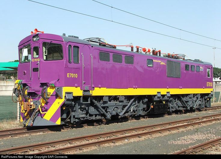 RailPictures.Net Photo: E7010 Shosholoza Meyl Class 7E (Electric) at Durban, South Africa by SAR Connecta
