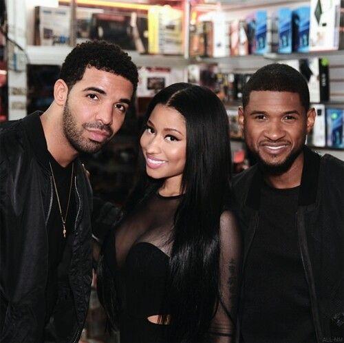 Drake, Nicki Minaj & Usher