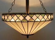 Almeria 16inch Tiffany Ceiling Light