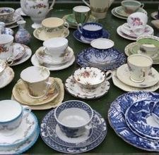Going to do this! I have a collection of plates and cups to use now..