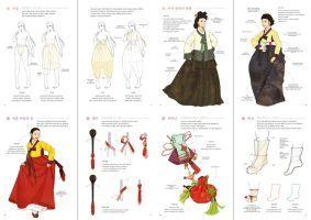 Hanbok ArtBook 1 by Glimja