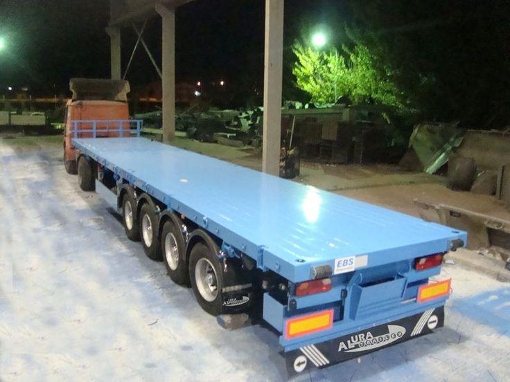 New ALURA flatbed semi-trailer - photo 1