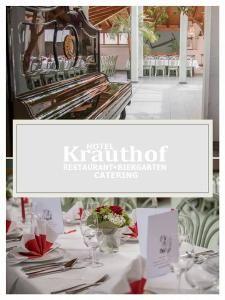 Und zu gemütlichen Stunden am Kamin im Hotel und Restaurant Krauthof