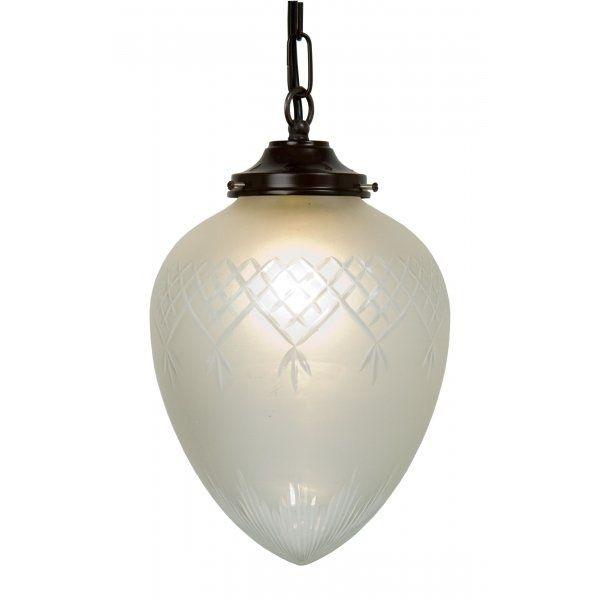 Belvedere Collection PINESTAR Victorian or Edwardian pineapple pendant lantern (medium)
