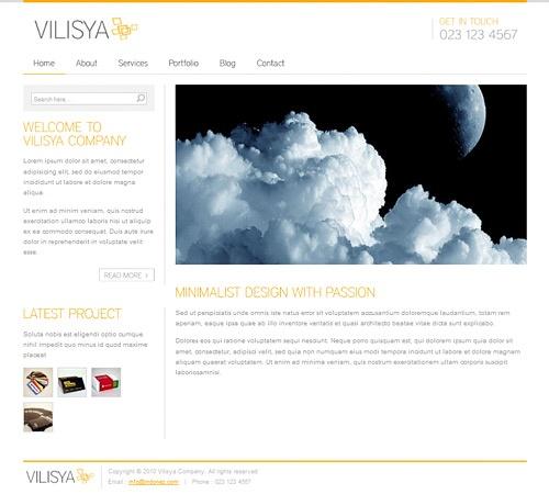 Vilisya wordpress themes