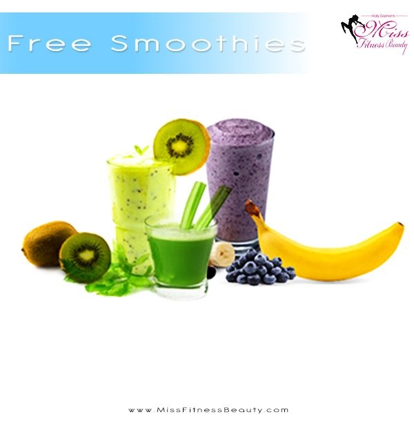 Free smoothies here