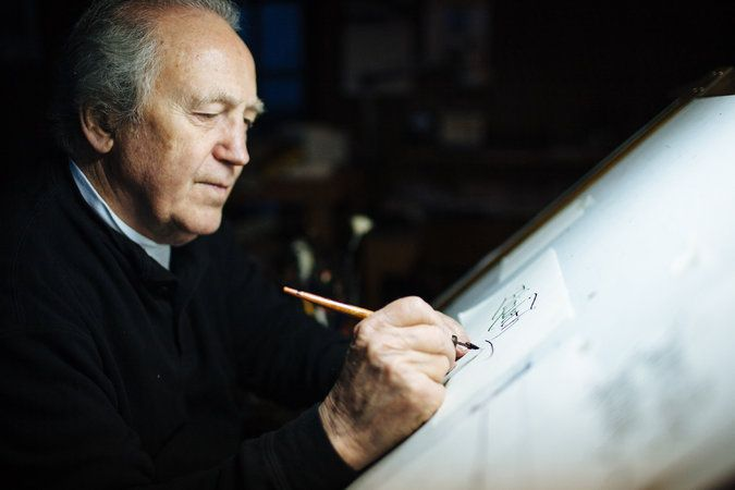 Father Palladino was a world-renowned master of calligraphy who taught Steve Jobs the importance — and aesthetics — of scripts.