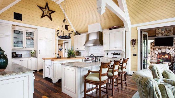 Kitchen Alan Jackson      .Lake Georgia lake house