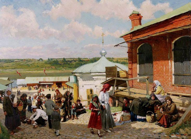 Маковский, Александр Владимирович. 1869-1924, Плес