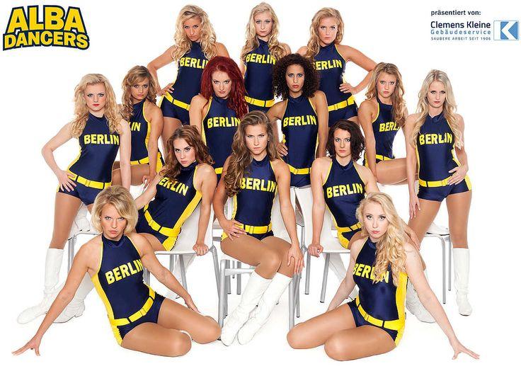 ALBA Dancers: ALBA BERLIN Basketballteam