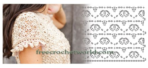 Vanessa Montoro stitch pattern for crochet dress| Free crochet stitch pattern