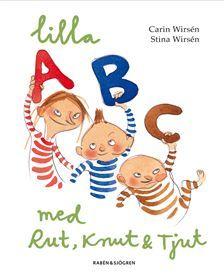 Valfri ABC bok. Titta på hemsidan för alla titlar. www.barabokstaver.se