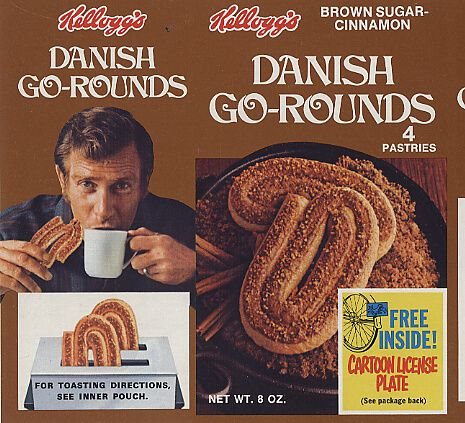 6. Kellogg's Danish Go-Rounds These were the best toaster ...