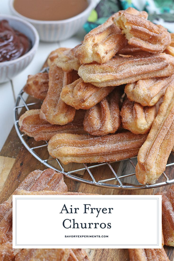 The perfect churro recipe, crunchy and tossed in cinnamon