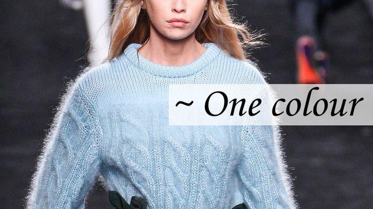 Trendy jesień-zima 2016/2017: swetry - Moda