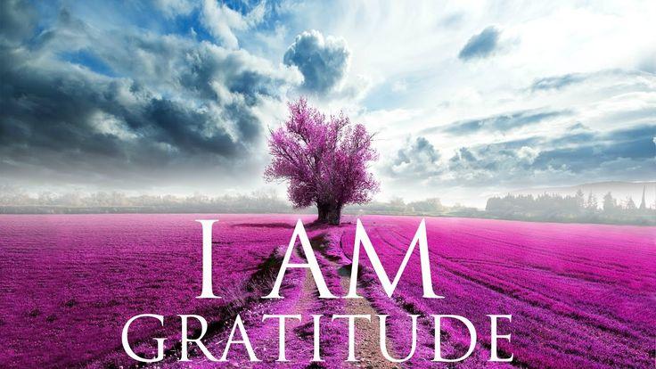 I AM Affirmations ➤ Gratitude & Self Love | Solfeggio 852Hz & 963Hz | Th...