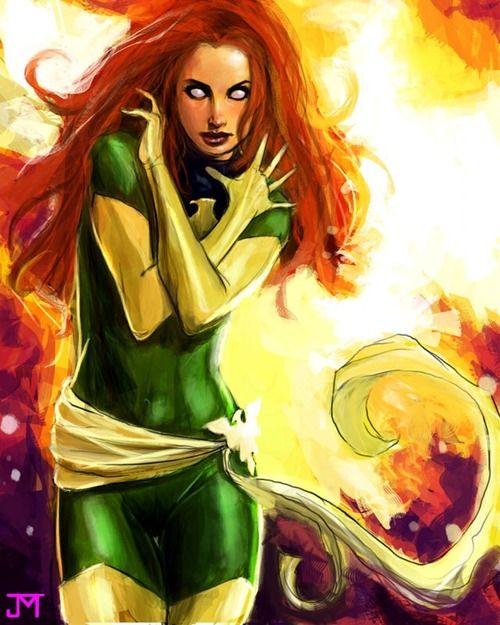 Phoenix by Jason Mclellan #comics #art