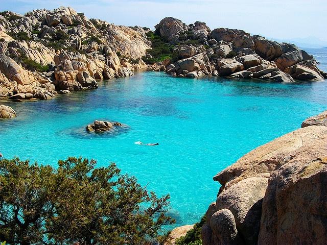Cala Coticcio, Caprera Island, Sardinia - Il Paradiso by fefefefe, via Flickr