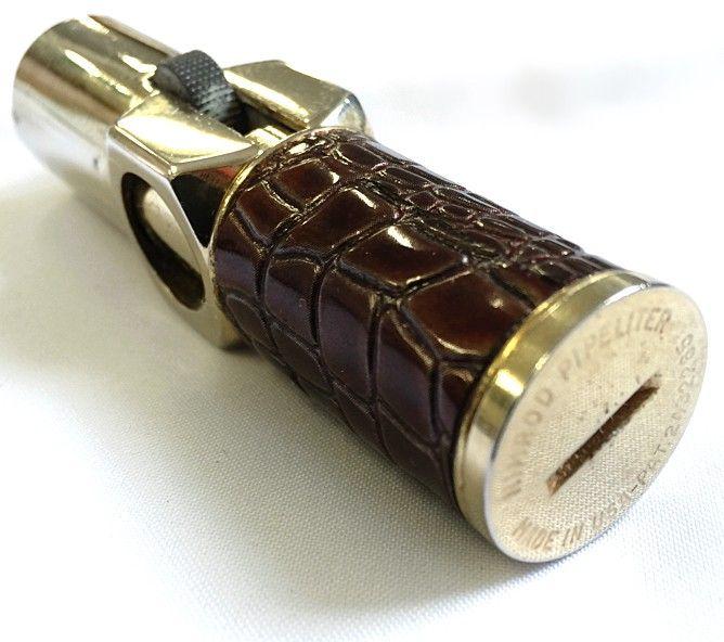 Vintage Lighter 1940s - 50s Nimrod Executive Pipeliter Cigarette Pipe Lighter | $35.00