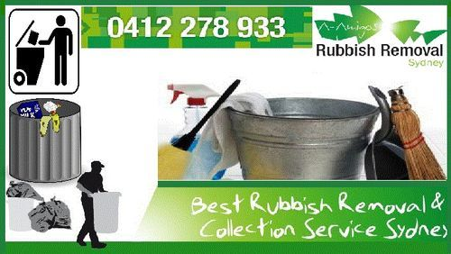 clean your environment with the cleaning services for rubbish removal of your near by areas such as home or office.