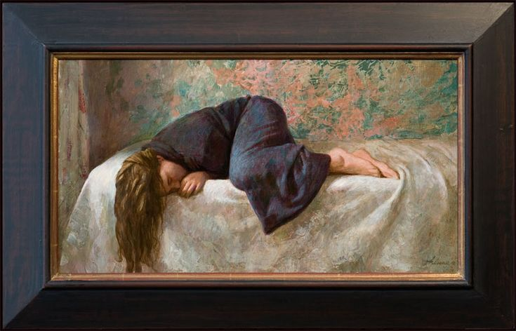 Slapend meisje - Girl Asleep, Kenne Gregoire, 2011 The Netherlands