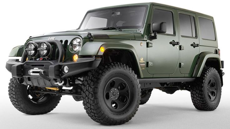 Filson JK - Wrangler Unlimited. 35-inch tires on 17-inch ...