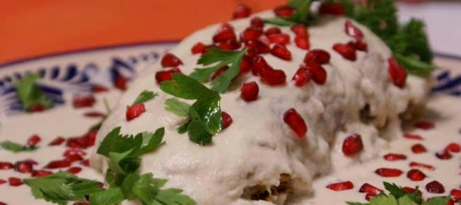 Chiles en Nogada #Foodporn #Mexican #Puebla